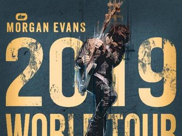 MORGAN EVANS HITS THE ROAD ON GLOBE-TROTTING WORLD TOUR